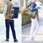 ノースフェイス・ダッフルバッグのサイズ比較生活用品 1