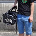 ノースフェイス・ダッフルバッグのサイズ比較生活用品 5
