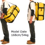 ノースフェイス・ダッフルバッグのサイズ比較生活用品 8
