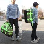 ノースフェイス・ダッフルバッグのサイズ比較生活用品 10