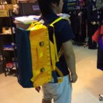 ノースフェイス・ダッフルバッグのサイズ比較生活用品 11