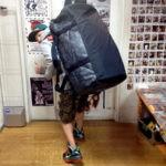 ノースフェイス・ダッフルバッグのサイズ比較生活用品 16