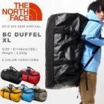 ノースフェイス・ダッフルバッグのサイズ比較生活用品 20