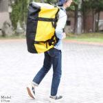 ノースフェイス・ダッフルバッグのサイズ比較生活用品 24