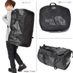 ノースフェイス・ダッフルバッグのサイズ比較生活用品 25