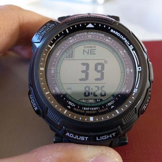 腕時計の温度計付は体温に影響される?プロトレックの活用法家電 4